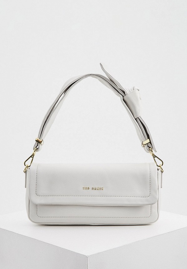 женская сумка с ручками ted baker london, белая