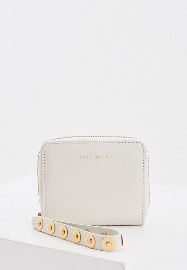 женский кошелёк coccinelle, серый