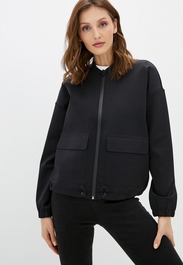 женская куртка banana republic, черная