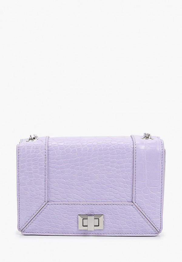 женская сумка через плечо pimkie, фиолетовая
