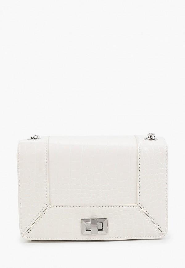 женская сумка через плечо pimkie, белая