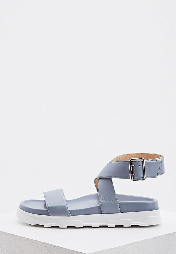 женские сандалии nando muzi, голубые