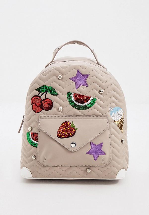 женский рюкзак braccialini, бежевый