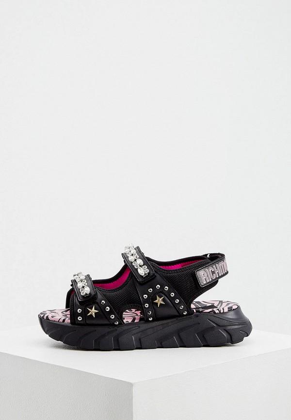 женские сандалии john richmond, черные