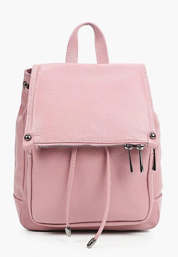 женский рюкзак giulia monti, розовый