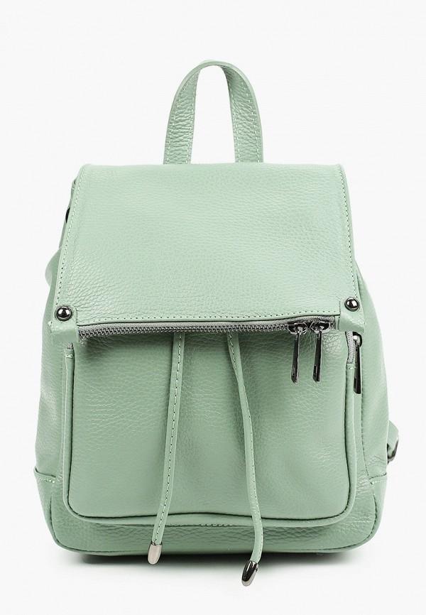 женский рюкзак giulia monti, зеленый