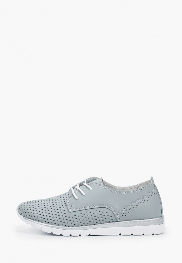 женские низкие ботинки m25, серые