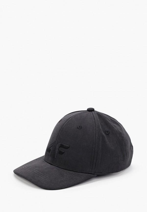 женская бейсболка 4f, черная
