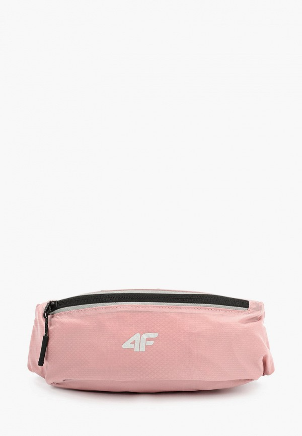 Сумка поясная 4F, Розовый