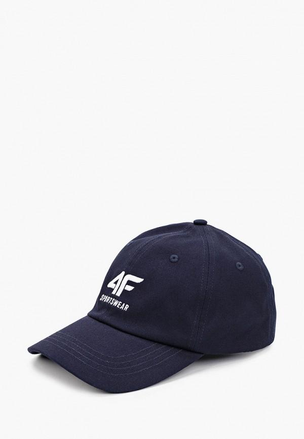 мужская бейсболка 4f, синяя