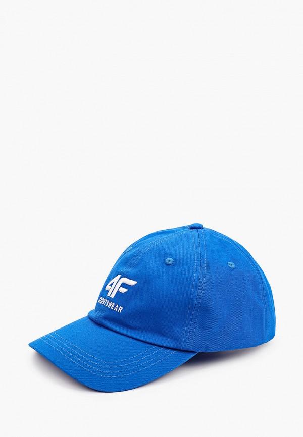 мужская бейсболка 4f, голубая