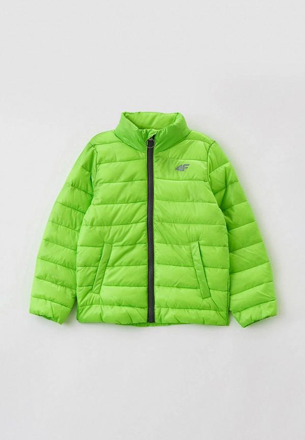 куртка 4f для мальчика, зеленая
