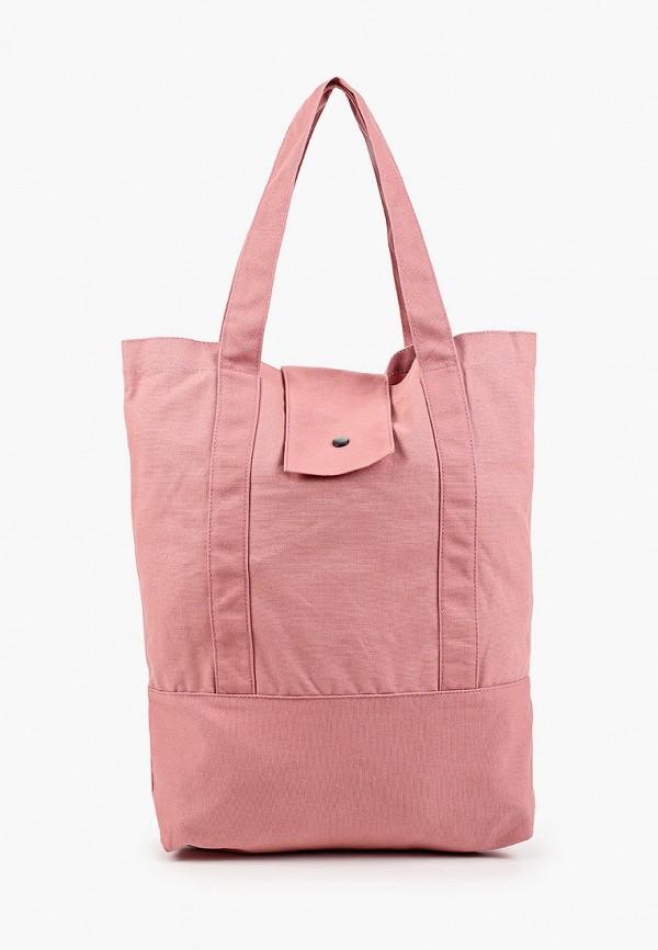 женская сумка-шоперы outhorn, розовая
