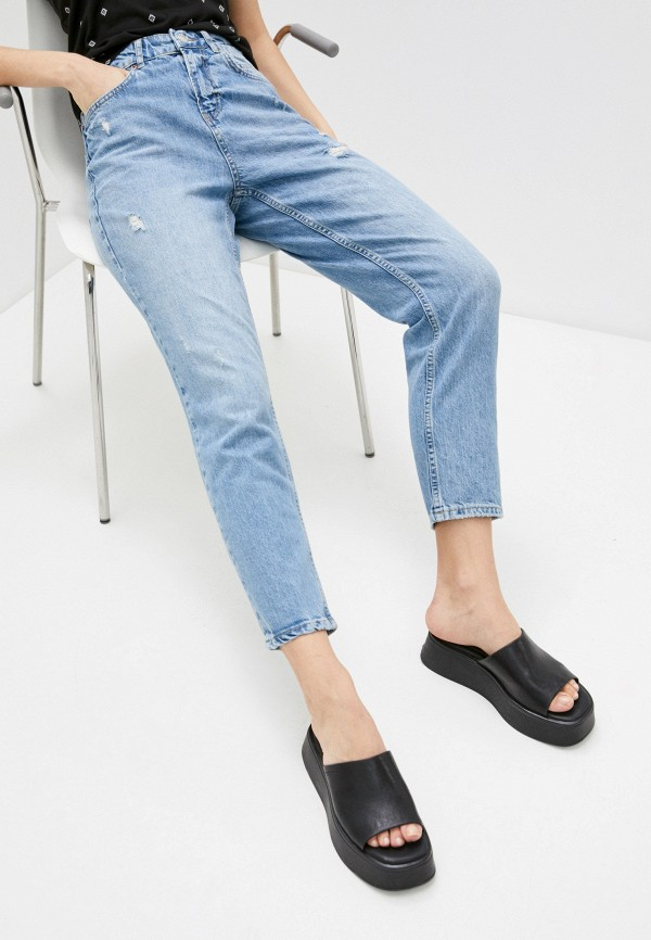 женские джинсы koton, голубые