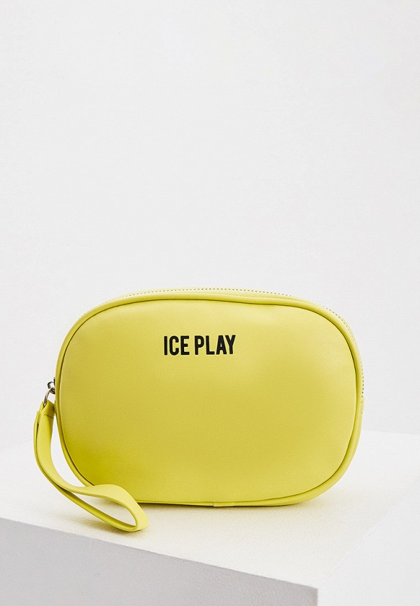 женская поясные сумка ice play, желтая
