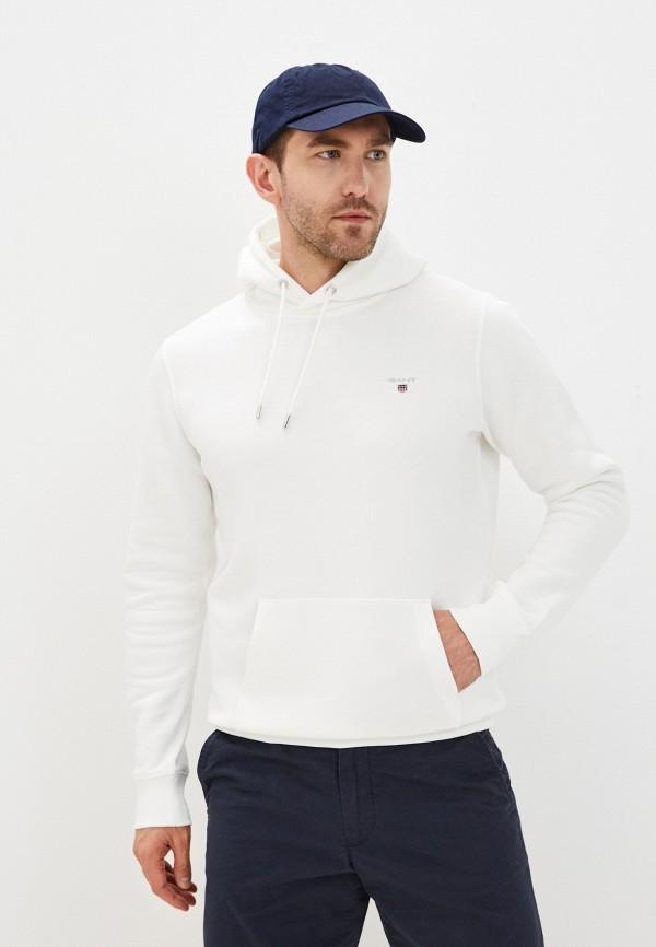мужские худи gant, белые