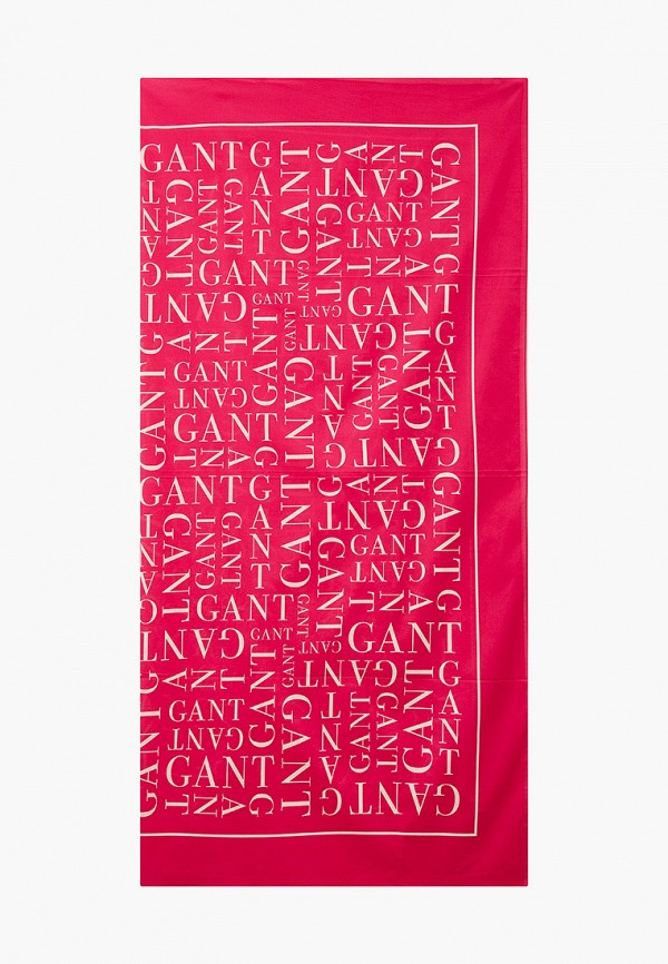 женский платок gant, розовый