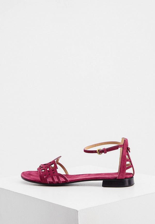 женские сандалии fabi, фиолетовые