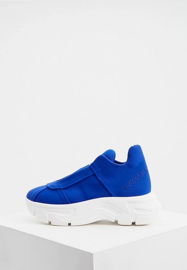 женские низкие кроссовки fabi, синие