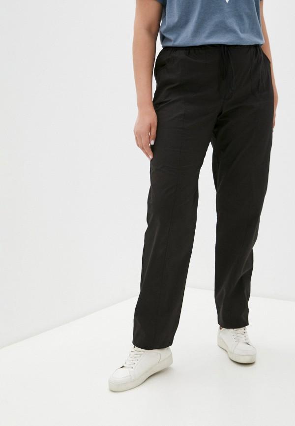 женские брюки джоггеры svesta, черные