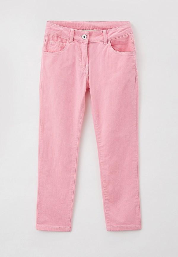 брюки twinset milano для девочки, розовые