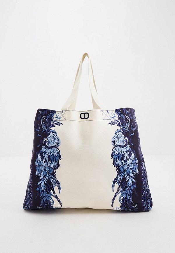 женская пляжные сумка twinset milano, разноцветная