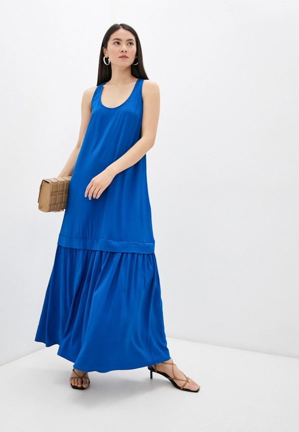 женское платье twinset milano, синее