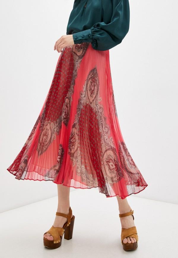 женская юбка twinset milano, красная