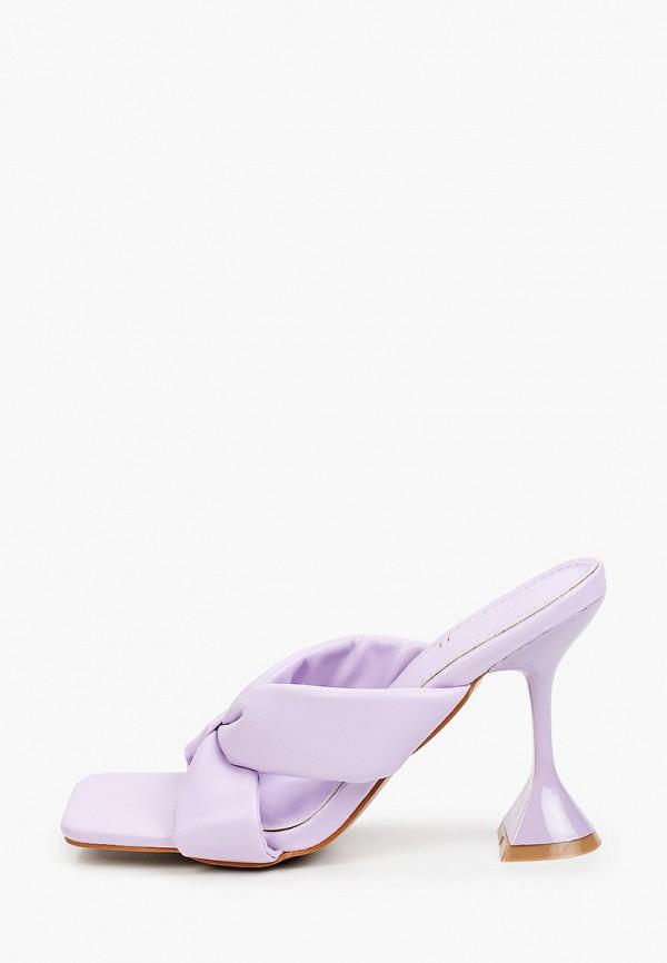 женское сабо marquiiz, фиолетовое