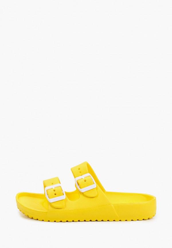 женское сабо marquiiz, желтое