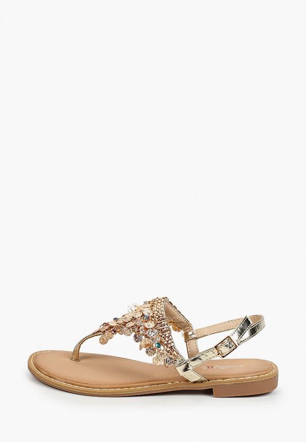 женские сандалии marquiiz, золотые