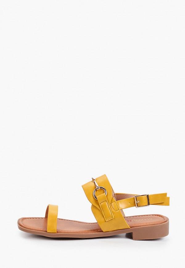женские сандалии marquiiz, желтые