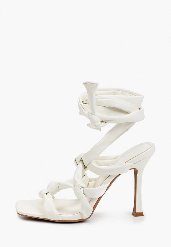 женские босоножки ideal shoes, белые