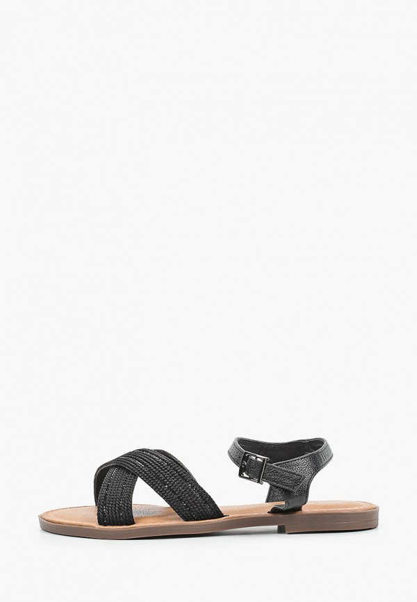 женские сандалии ideal shoes, черные