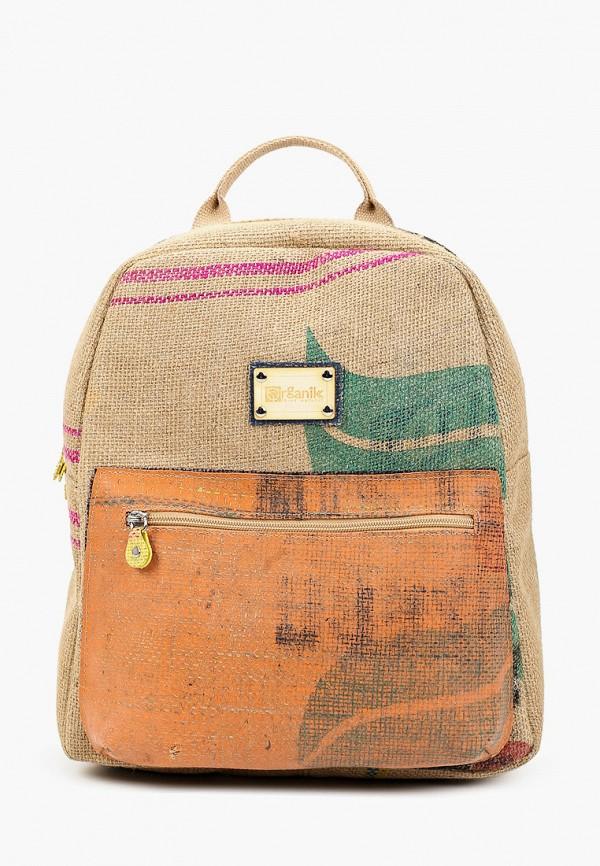 женский рюкзак lamania, коричневый