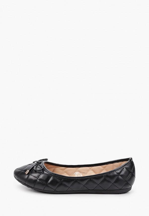 женские балетки sweet shoes, черные