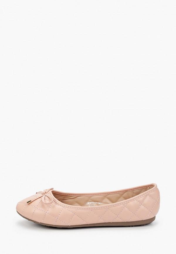 женские балетки sweet shoes, розовые