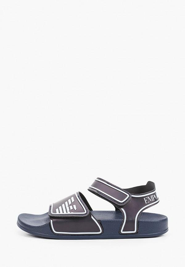 сандалии emporio armani для девочки, черные