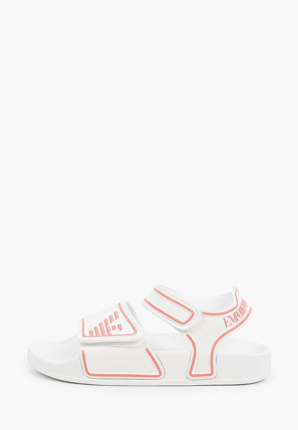 сандалии emporio armani для девочки, белые