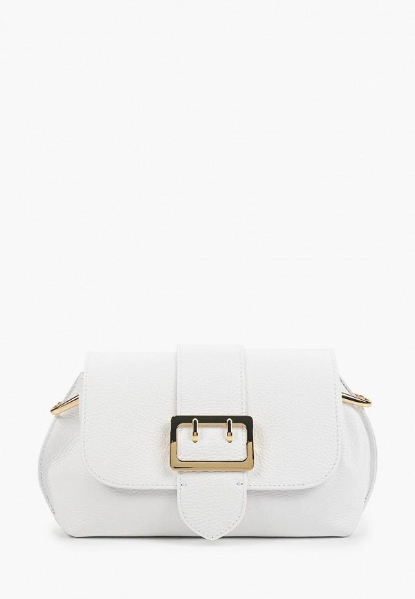 женская сумка через плечо kristy.x, белая
