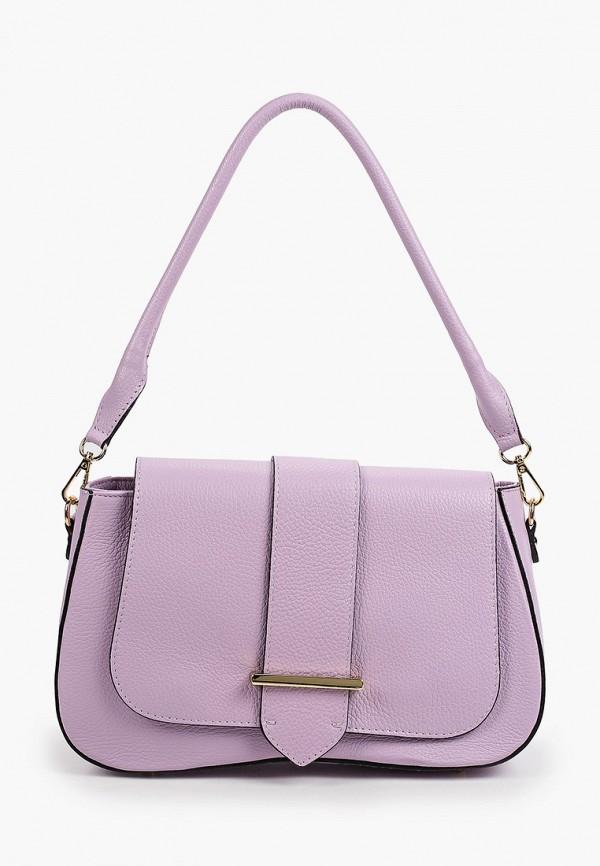 женская сумка с ручками kristy.x, фиолетовая