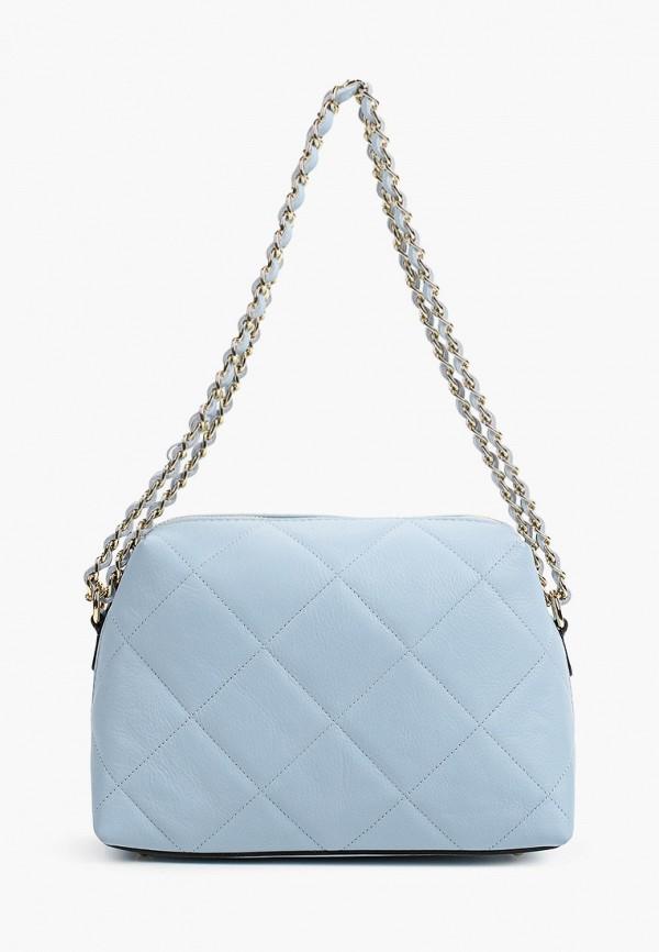 женская сумка через плечо kristy.x, голубая