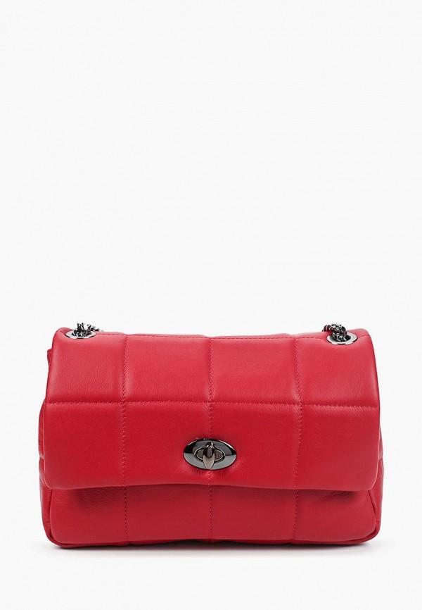 женская сумка через плечо kristy.x, красная