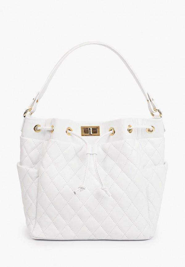 женская сумка с ручками kristy.x, белая