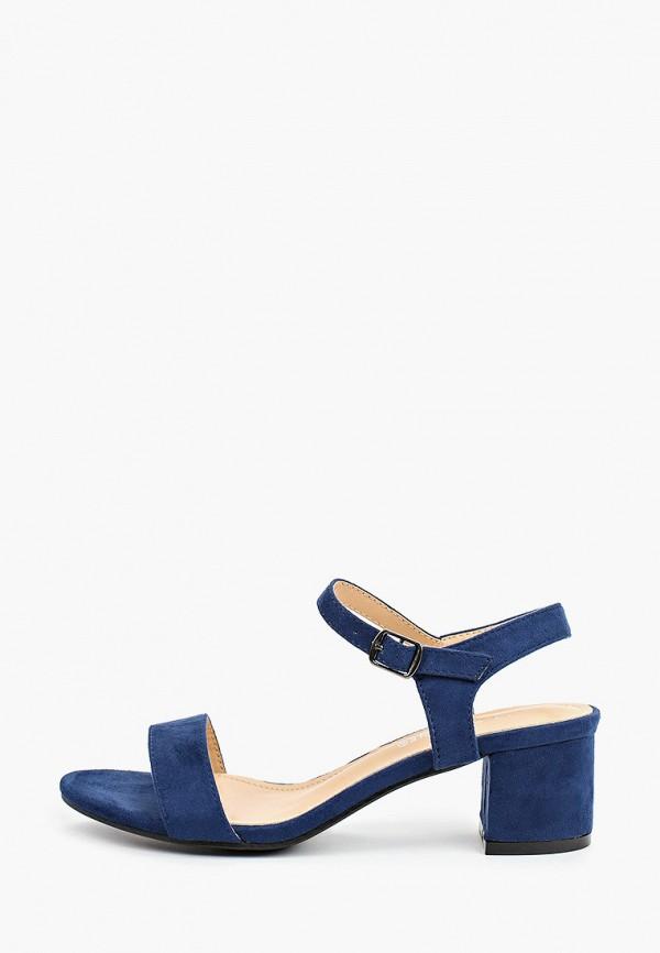 женские босоножки la bottine souriante, синие