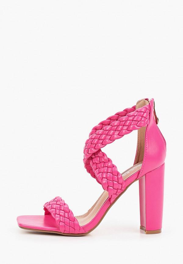 женские босоножки la bottine souriante, розовые