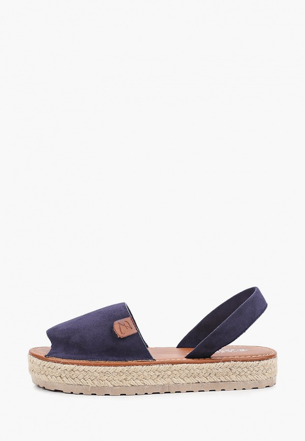 женские сандалии la bottine souriante, синие