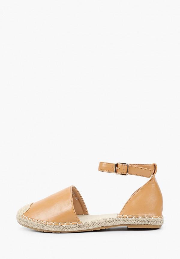 женские туфли с закрытым носом la bottine souriante, оранжевые