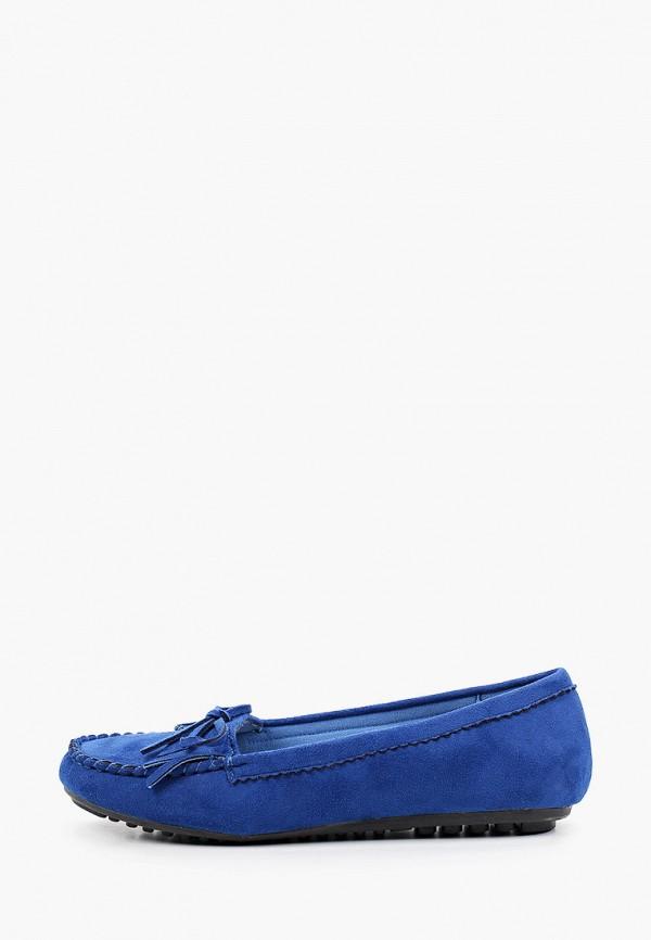женские мокасины la bottine souriante, синие