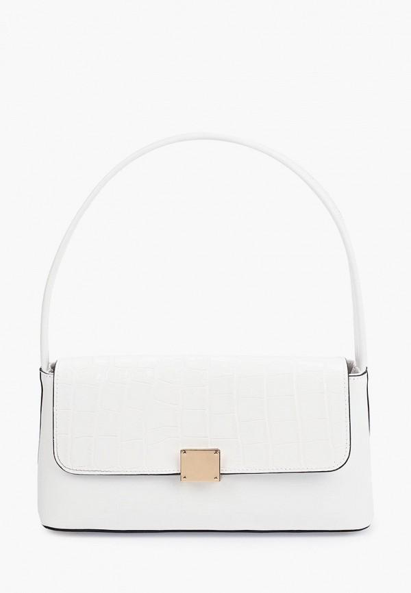 женская сумка с ручками lamania, белая